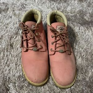 Timberland Nellie Waterproof Chukka Boot pink